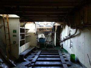Compressor Room Before